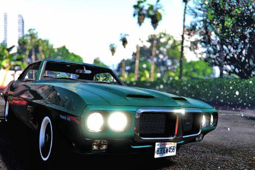 1969 Pontiac Firebird Trans [Add-On]
