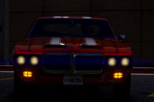 1969 Pontiac Firebird Trans AM [Add-On]