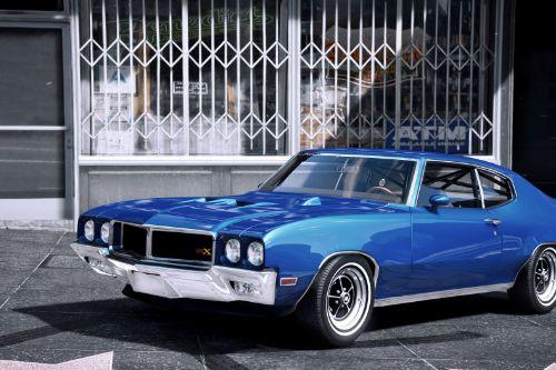 1970 Buick GSX [Add-on | Tuning | Livery]