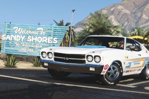 1970 Chevrolet Chevelle SS 454 [Add-On | Template]