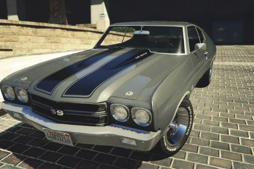 1970 Chevrolet Chevelle SS [Add-On / Replace]