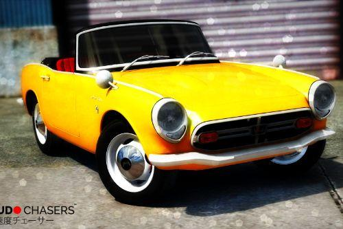 1970 Honda S800 Cabriolet [Add-On / Replace]