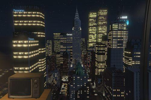 1970s Liberty City Penthouse and Rooftop Party (Liberty V) [Map Editor]