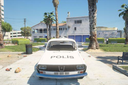 1970s Renault 12 - Old Turkish Police