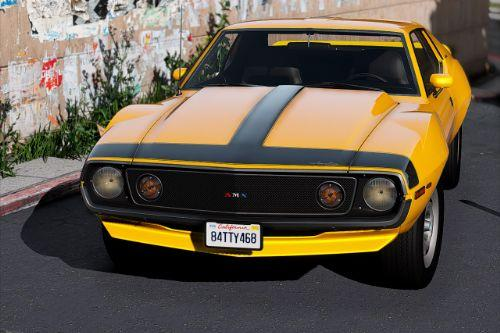 1971 AMC Javelin-AMX [Add-On | Tuning | Template | Extras]