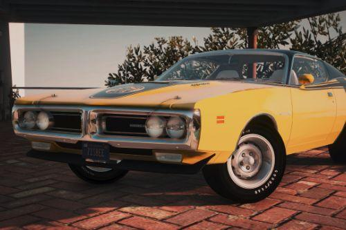 1971 Dodge Charger Superbee [Add-On | Extras | LODs]