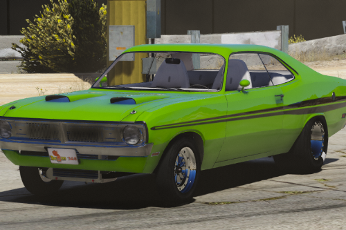 1971 Dodge Dart Demon Drag Version [FiveM | Replace]