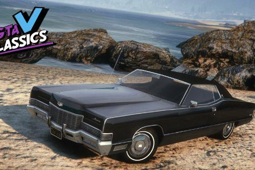 1971 Mercury Marquis Brougham [Add-On | LODs | Template]