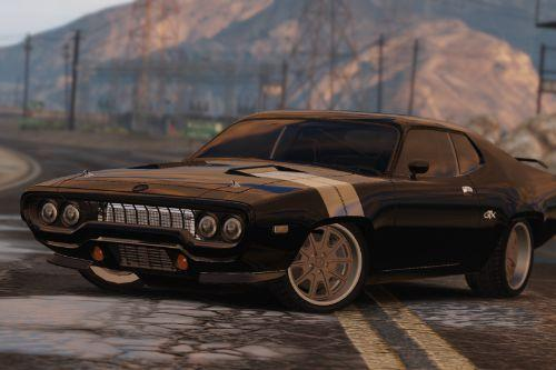 1971 Plymouth RoadRunner GTX 440 (Fate and the Furious) [Add-On/Replace]