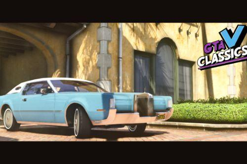 1972 Lincoln Continental Mark IV [Add-On | LODs]