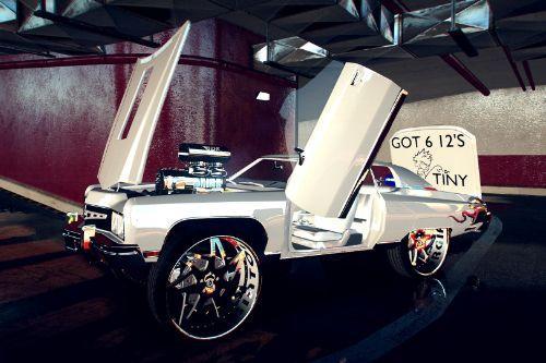 1973 Chevrolet Caprice Venom Donk [Add-On | Unlocked]