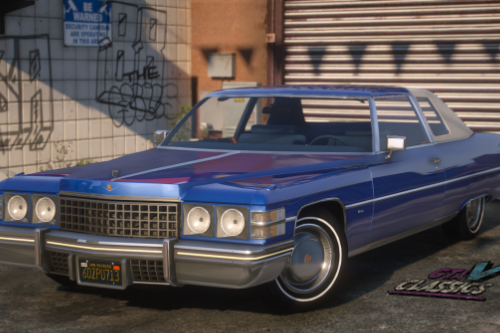 1974 Cadillac Coupe Deville [Add-On | LODs]
