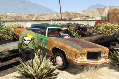 """1974 Chevy Caprice Vert """"Junk Donk"""""""