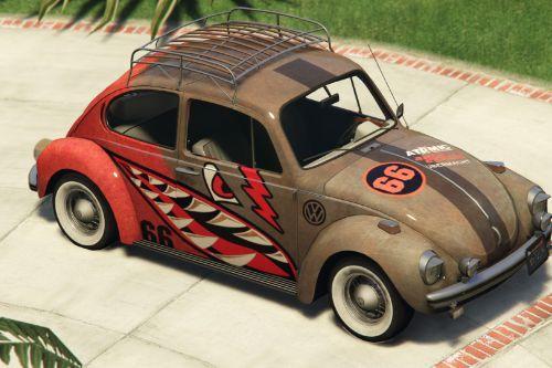 1974 Volkswagen Beetle Livery Bullet