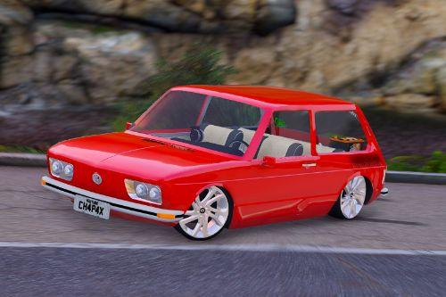 1974 Volkswagen Brasilia Lowered
