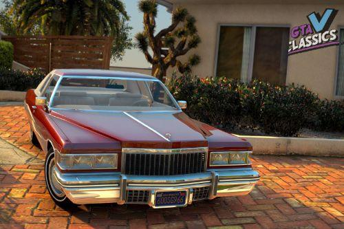 1975 Cadillac Coupe Deville [Add-On | LODs]