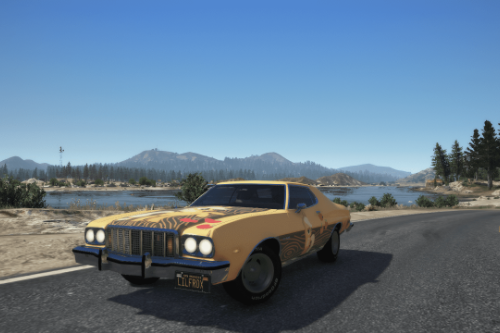 1976 Ford Gran Torino || Apple Jack paintjob