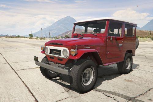 1978 Toyota FJ40 Land Cruiser [Add-On / Replace]