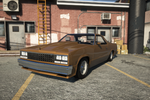 1985 Chevrolet El Camino [Add-On]