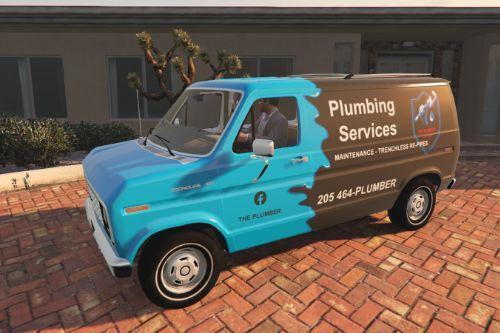 1982 Ford E-150 Van - Plumbing Service  [Paintjob]