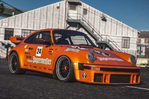 1982 Porsche 911 Turbo (930)  - Jagermeister livery