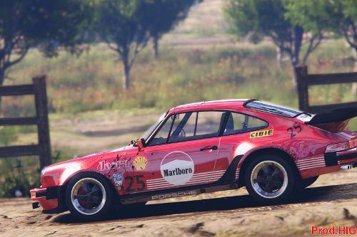1982 Porsche 911 Turbo  Marlboro Livery Packs [2K- 4K]