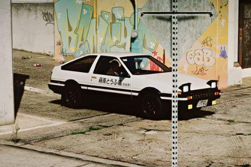 1983 Toyota Sprinter Trueno 3DOOR 1600GT Apex (AE86) [Add-On | Tuning | LHD | Pop-up Headlight]