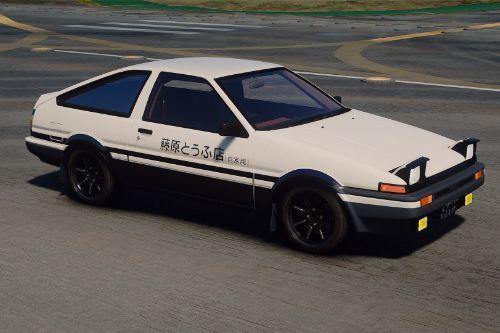 1983 Toyota Sprinter Trueno 3DOOR 1600GT Apex (AE86) [ Add-On | Tuning | RHD ]