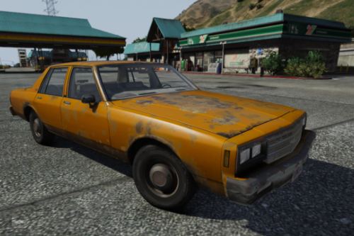 1985 Chevrolet Impala + Rusty textures [Replace | old edition]