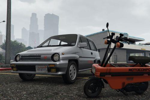 1985 Honda City Turbo II JDM  [Add-On | Replace | RHD | Tuning]