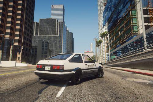 1985 Toyota Sprinter Trueno GT Apex (AE86) [Add-On | Tuning | Template | Livery | RHD | Pop-up Headlight]