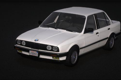 1986 BMW 325e Turbo (E30) [Add-On | Tuning | Extras]