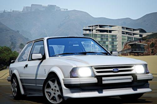 1986 Ford Escort RS Turbo [Add-On | Extras]