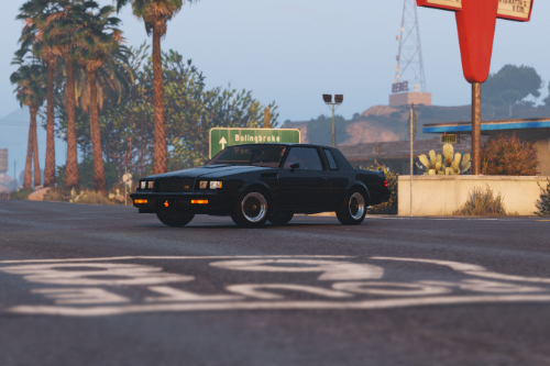 1987 Buick GNX [Add-On / Replace]