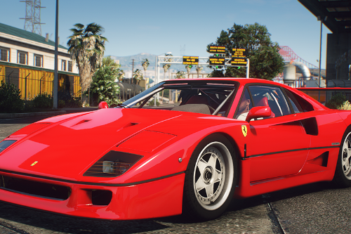 1987 Ferrari F120 [F-40] EU Spec [Add-On | Animated | LODs]