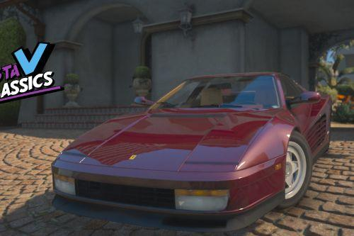 1987 Ferrari Testarossa [Add-On | Extras | LODs]