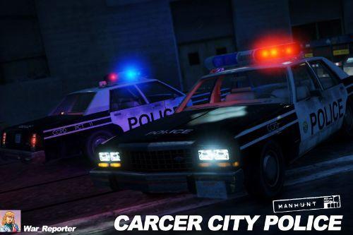 1987 Ford LTD Carcer City Police in Manhunt [Skin]