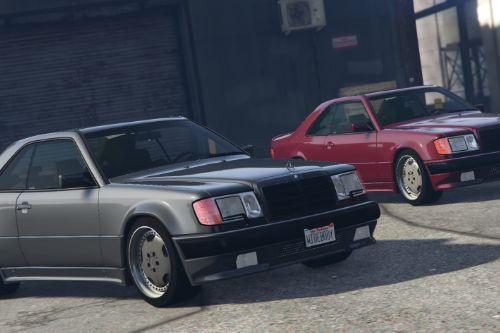 "1987 Mercedes-Benz 300CE AMG 6.0 ""Hammer"" 2-Pack [ Add-On / Replace 