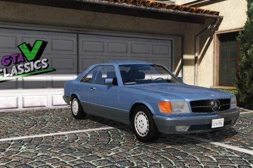 1987 Mercedes-Benz 560 SEC C126 [Add-On | Tuning | Extras | LODs]