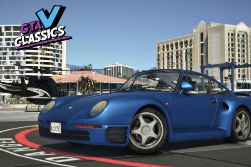 1987 Porsche 959 [Add-On | LODs | Template]