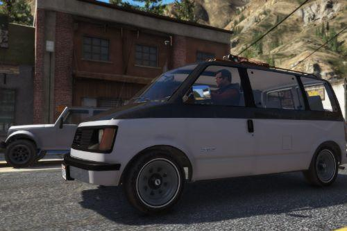 1988 Chevrolet Astro [Add-On | Extras | LODs]