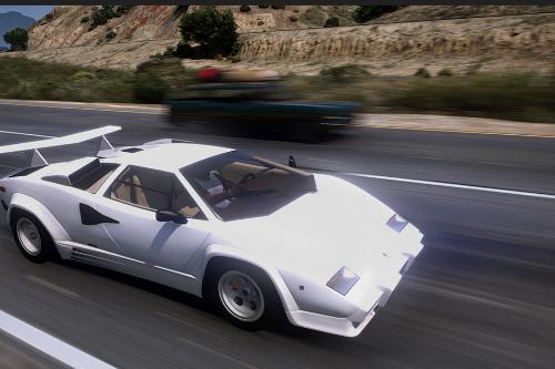 1988 Lamborghini Countach LP5000 QV [Add-On | Template | Sounds | LODs | FiveM]