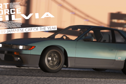 1989-1992 Nissan Silvia S13 [Add-On / 250+ Tuning / RHD / Template]