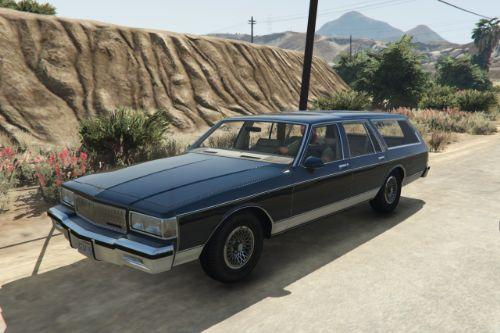 1989 Chevrolet Caprice Wagon [Add-On / Replace]
