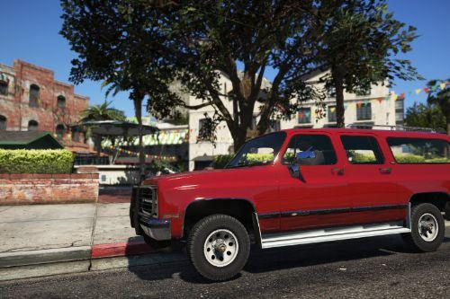 1989 Chevrolet Suburban [Add-on Version]