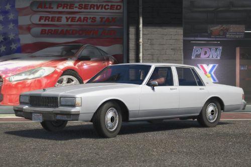 1990 Chevrolet Caprice Civilian Sedan [Replace]