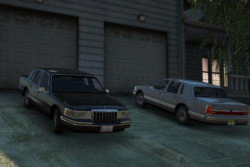 1991 Lincoln Town Car Pack [Add-On | LODs]