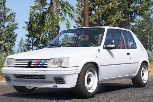 1991 Peugeot 205 Rallye [Add-On | Extras | Tuning]