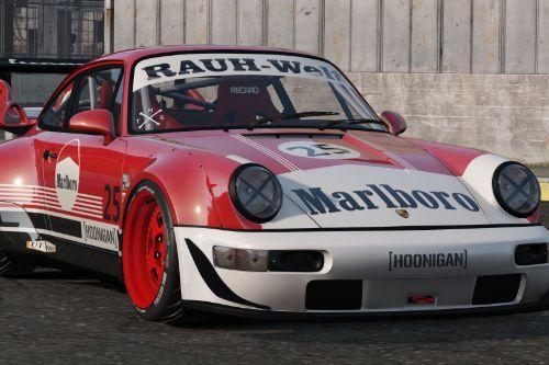 1991 Porsche 911 Marlboro (万宝路)  Livery [Texture]