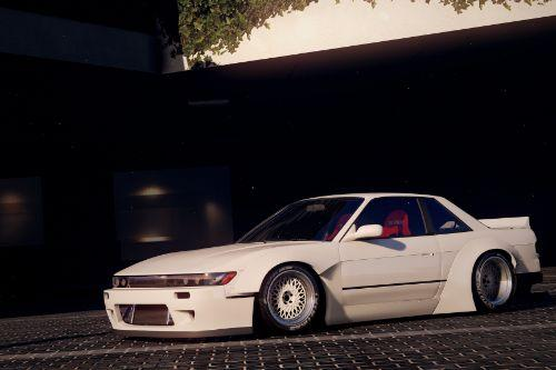1992 Nissan Silvia (S13) Rocket Bunny V2 Kits [Add-Ons | Replace]